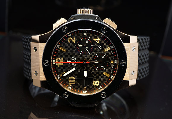 HUBLOT Big Bang, 18ct Rose Gold, 301.PB.131.RX, Box & Papers