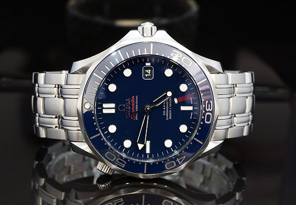 OMEGA 2015 Seamaster 300m, 21230412003001, Ceramic, Box & Papers