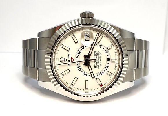 ROLEX 2020 Sky-Dweller 326934, UNWORN, Steel, Box & Papers