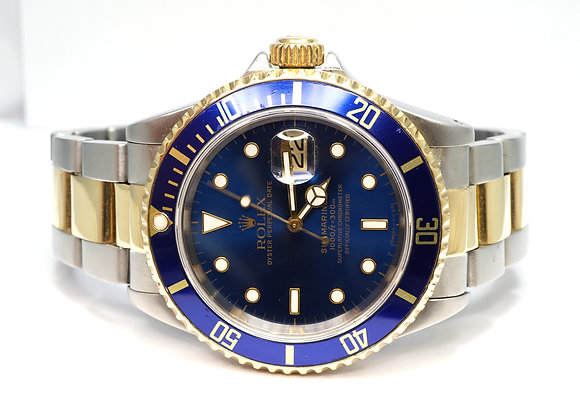 ROLEX 1995 Submariner, 16613, Steel & Gold, Boxed