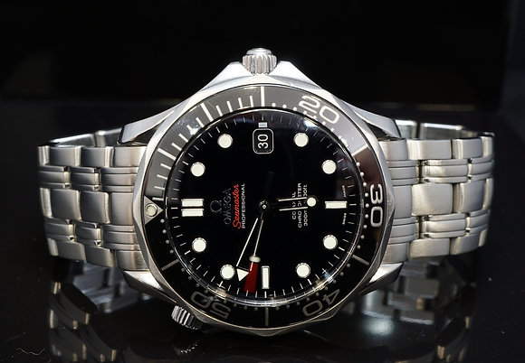 OMEGA 2014 Seamaster 41mm, 300m, 21230412001003, Box & Papers