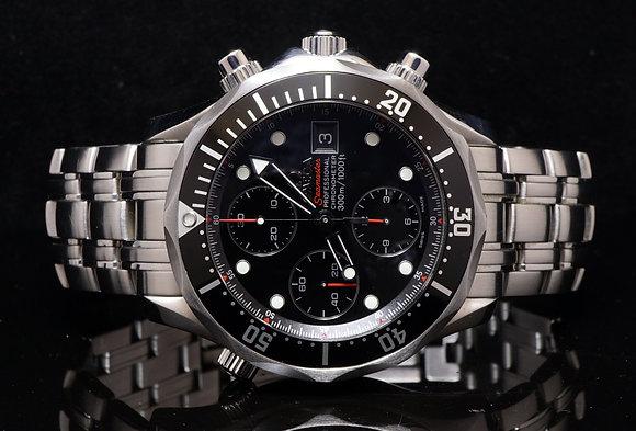 OMEGA Seamaster Chrono, 2013, B & P