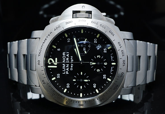 PANERAI 2007 Luminor Daylight Chrono, PAM00236, Box & Papers