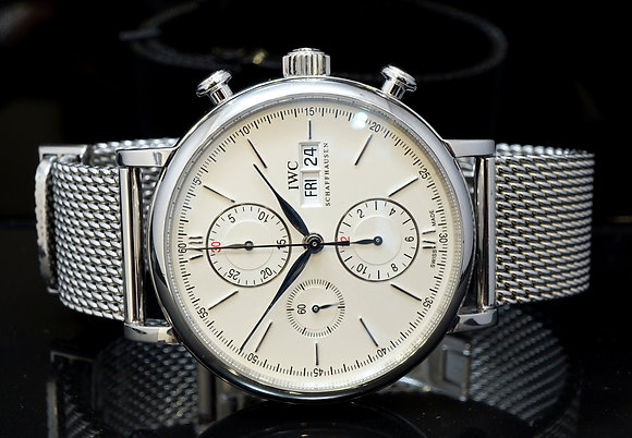 IWC 2011 Portofino Chronograph, IW391005, MINT, Box & Papers
