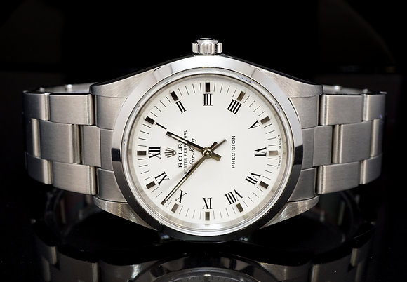 ROLEX 1999 Air-King, Steel, 14000, Box & Papers
