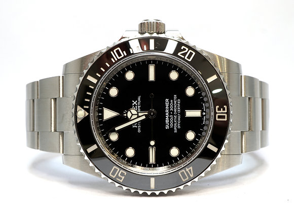 ROLEX 2020 Submariner Non Date 41, 124060, MINT, Box & Papers