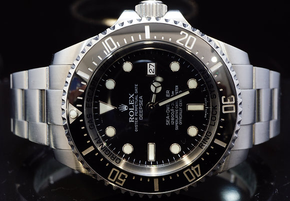 ROLEX 2009 Deep Sea, Sea-Dweller, 116660, MINT, Box & Papers
