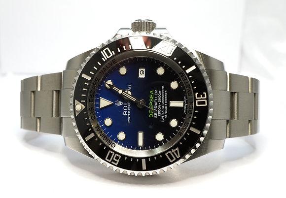 ROLEX 2015 Deepsea James Cameron 116660, D-Blue, MINT, Box & Papers