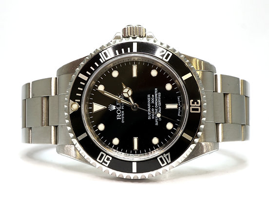 ROLEX 2008 Submariner Non Date, 14060M, 4 Line Dial, Box & Papers