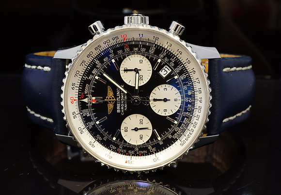 BREITLING 2010 Navitimer, Steel, A23322, MINT, Box & Papers