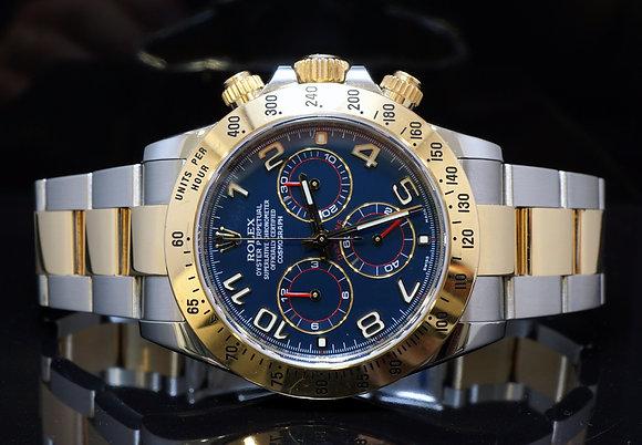 Rolex 2010 Daytona, Steel & Gold, 116523, MINT, Box & Papers