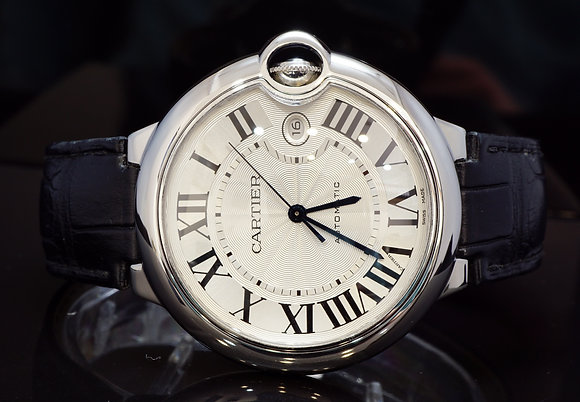 CARTIER 2015 42mm Ballon Bleu, Steel, Auto, W69016Z4, Box & Papers