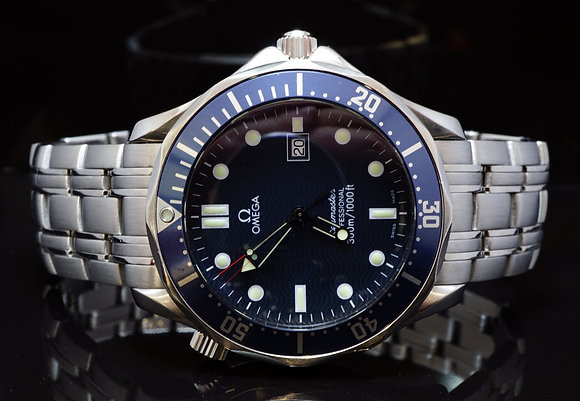 OMEGA 41mm Seamster, 25418000, Excellent Condition, Box & Papers