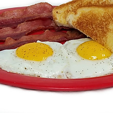 Eggs with Bacon or Sausage