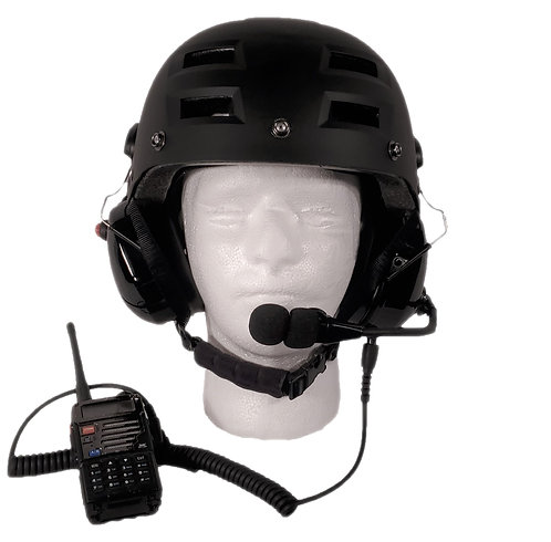 Radio Helmet with optional Bluetooth!