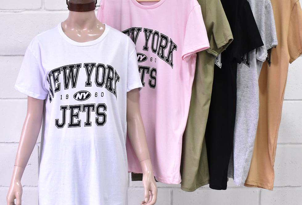 "Remeron Jersey Estampa "" NEW YORK JETS"" #3301"