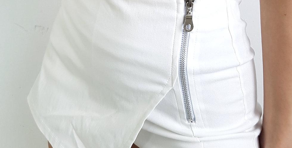Short pollera con cierre lateral #23