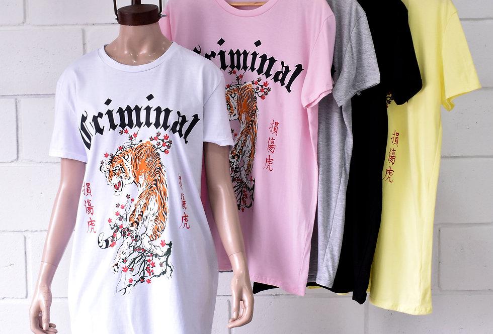 """Remeron Jersey Estampa """"CRIMINAL"""" #3301"""
