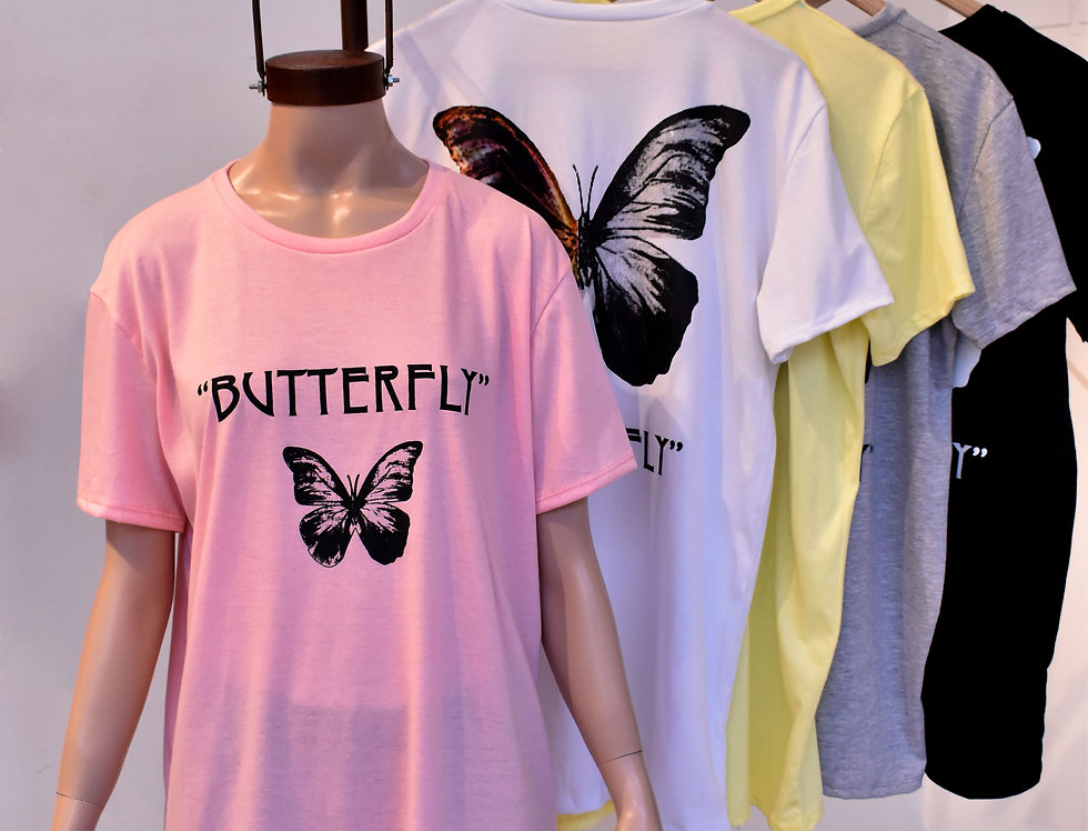 "Remerón Jersey Estampa ""Butterfly"" #3301/1"
