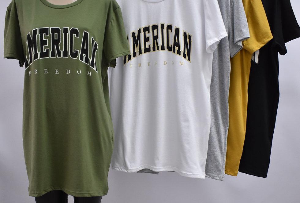 """Remeron Jersey Estampado """"AMERICAN"""" #3301"""