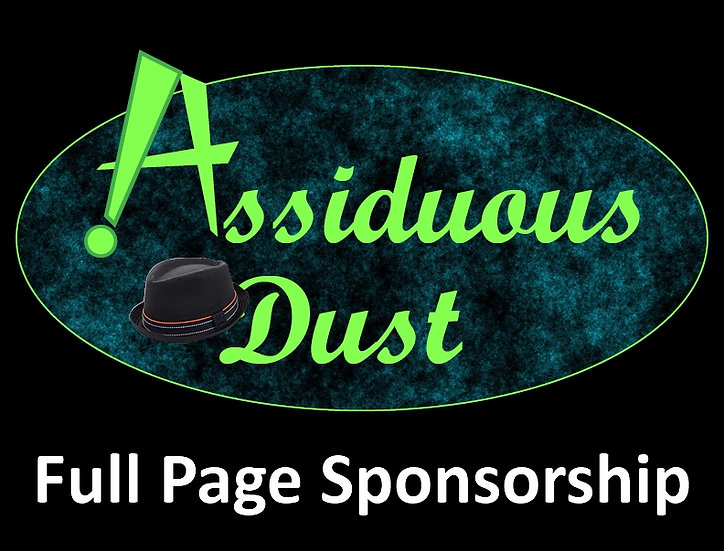 Assiduous Dust Sponsorship - Full Page