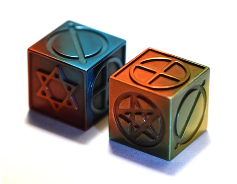 MultiColor  Simbol Dice (pair)