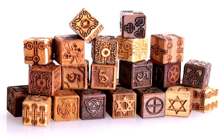 Dragon & Celtic Laser Dice