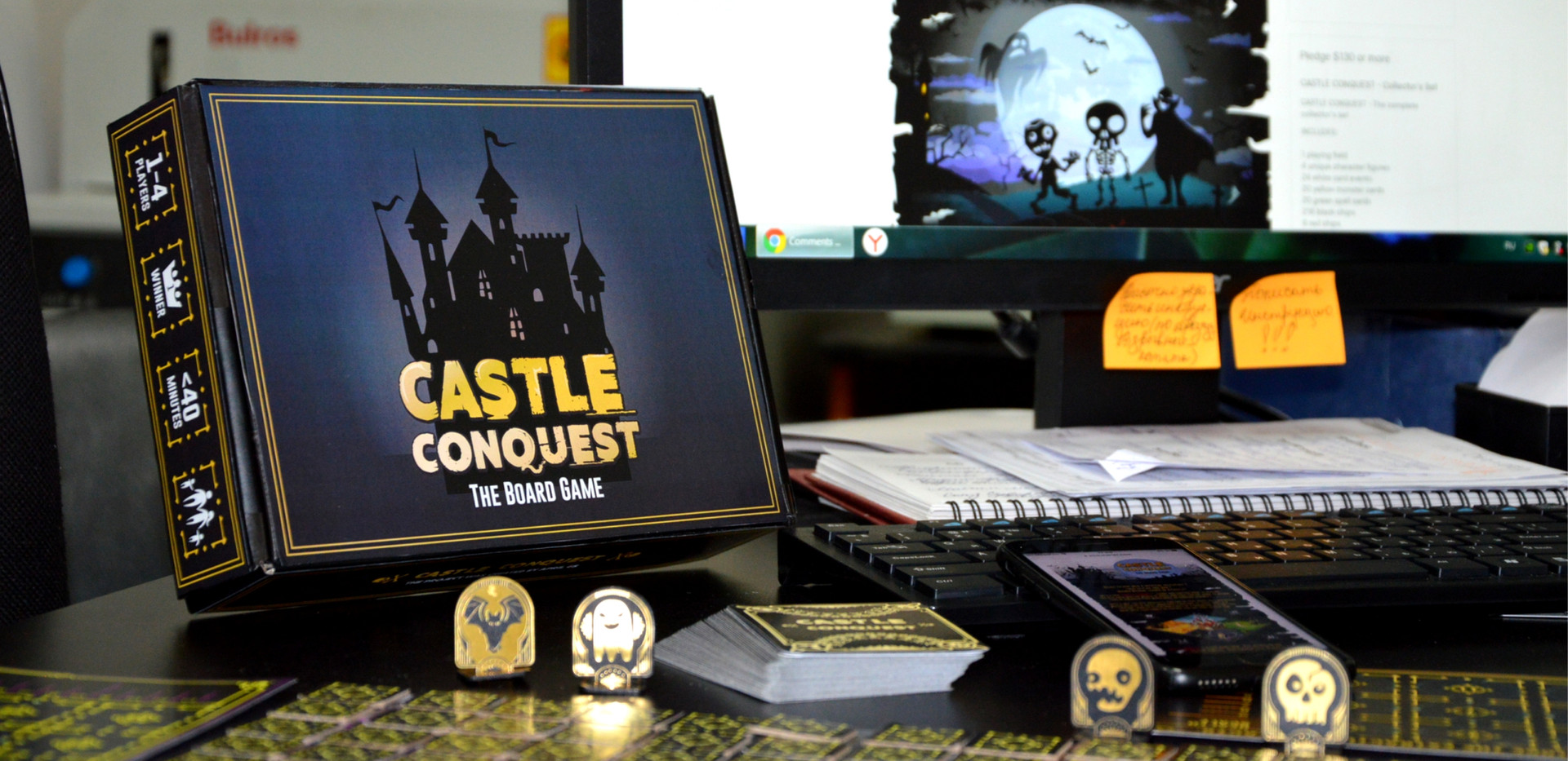 "Настольная игра ""Castle Conquest"" Захват Замка"