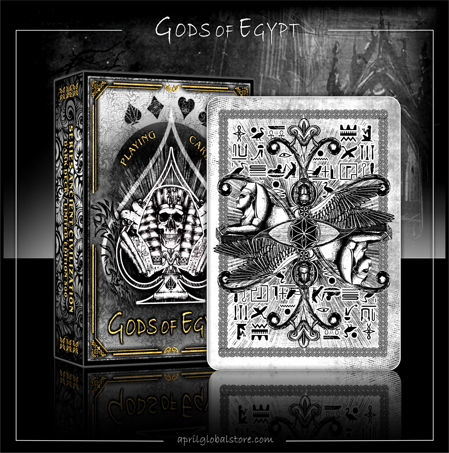 GODS of Egypt playing cards