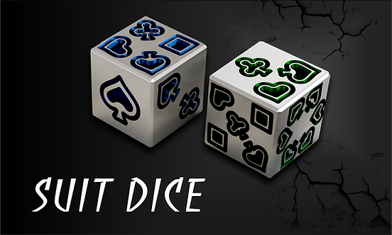 Suit Dice (Pair)