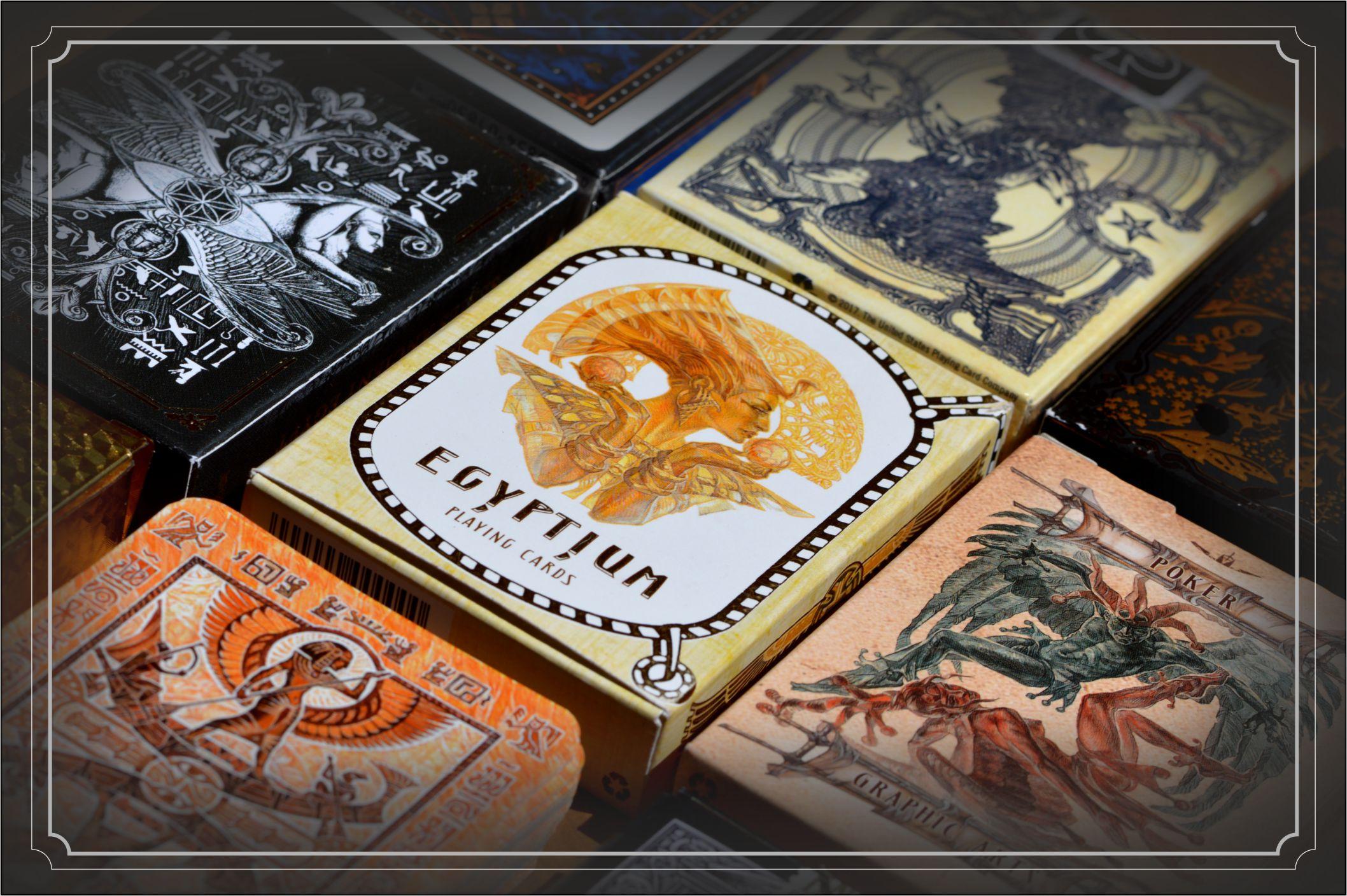 Egytium cards