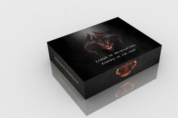 """Сувенирная коробка """"Heroes"""""""