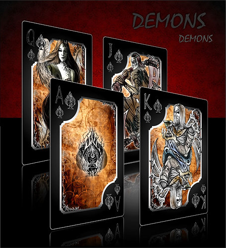 Angels & Demons - playing cards