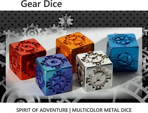 Gear Dice Multicolor