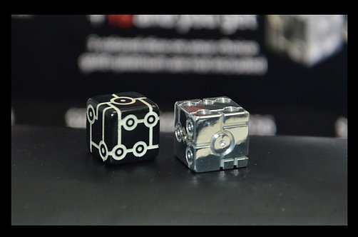 Small set of Tron DICE 2 шт. (pair)