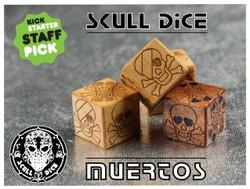 Skull Dice. Лазерная резка