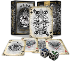 Aces of Egypt - Art playing cards
