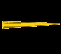 Micropipette Tips, 2-200 μL, Sterile, Yellow Color, 960 Quantity, Bulk Racks