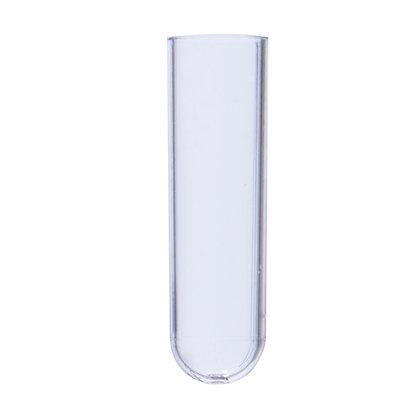 Test Tube (RIA Vial), 2.5 mL, Autoclavable, Natural Color, 500 Quantity,Bulk Bag