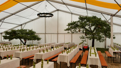 Exklusivzelte (Zelthalle für bis zu 2000 Personen)