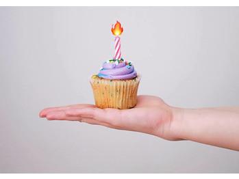 自粛中の誕生日