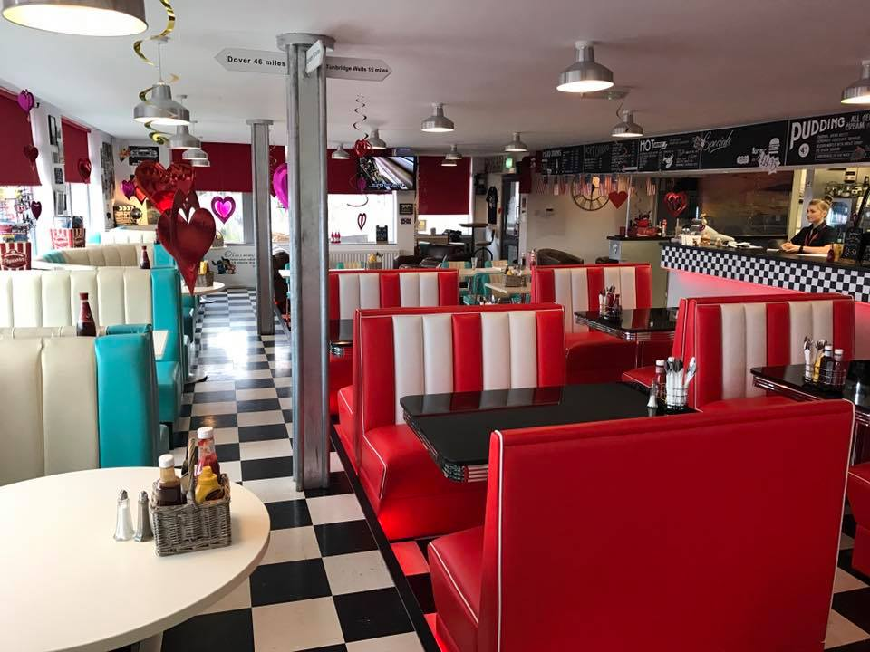 A21 Diner Booths