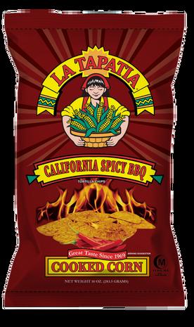 La Tapatia California Spicy BBQ Chips
