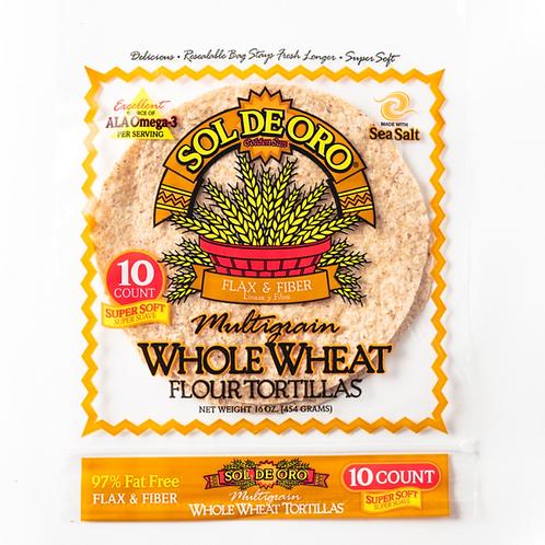 Whole Wheat Flour Tortilla