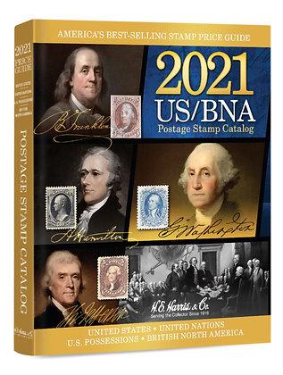 2021 US/BNA Postage Stamp Catalog