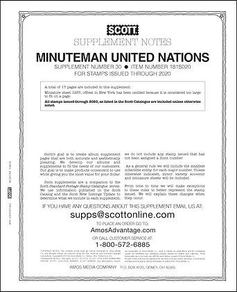2020 Scott United Nations Minuteman #30
