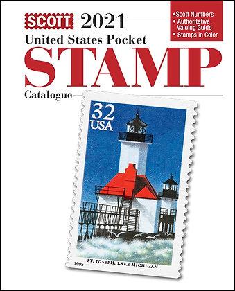 2021 Scott U.S. Stamp Pocket Catalogue