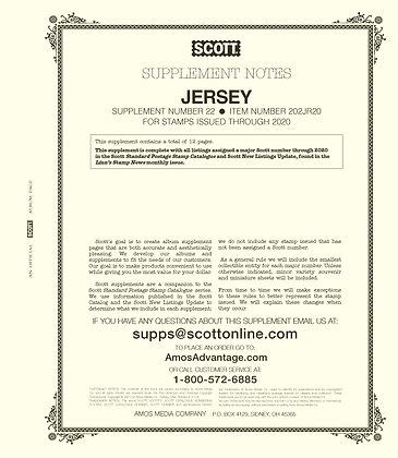 2020 Scott Jersey Supplement #22