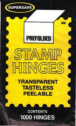 E-19:   SuperSafe Stamp Hinges pre-folded