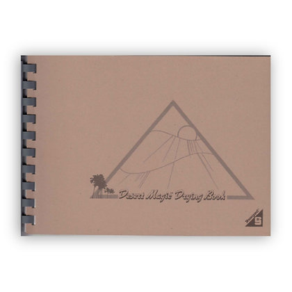 Desert Magic Drying Book